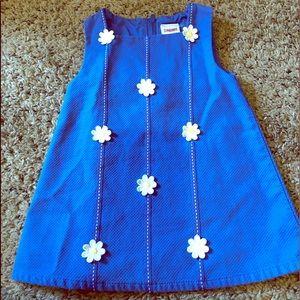 Mod daisy baby dress
